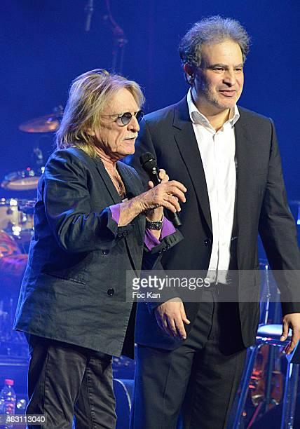 Christophe and Raphael Mizrahi attend 'La 3eme Nuit De La Deprime 2015 ' At Folies Bergeres on February 9 2015 in Paris France