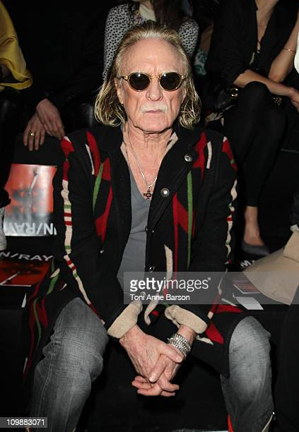 Christophe attends the JeanCharles de Castelbajac Ready to Wear Autumn/Winter 2011/2012 show during Paris Fashion Week at Pavillon Concorde on March...