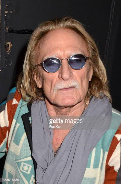 Christophe attends the Louis Bertignac Private Concert Party Hosted by 'Parnasse' Orange VIP Club at 1515 Club on December 5 2011 in Paris France