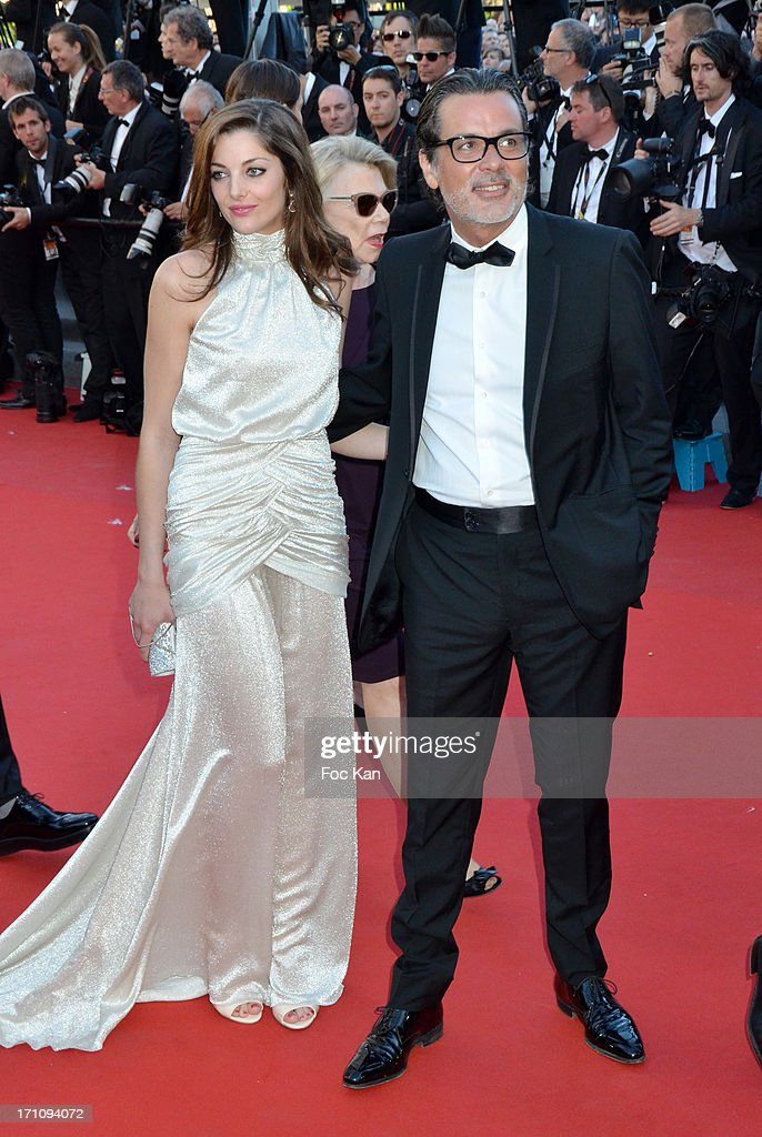 Christophe Barratier and a guest attend 'The Immigrant' Premiere during the 66th Annual Cannes Film Festival at Grand Theatre Lumiere on May 24 2013...