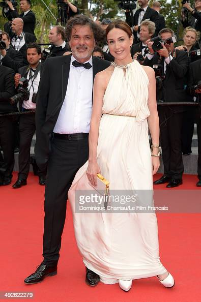 Christophe Barratier and Elsa Zylberstein attend 'The Search' Premiere at the 67th Annual Cannes Film Festival on May 21 2014 in Cannes France
