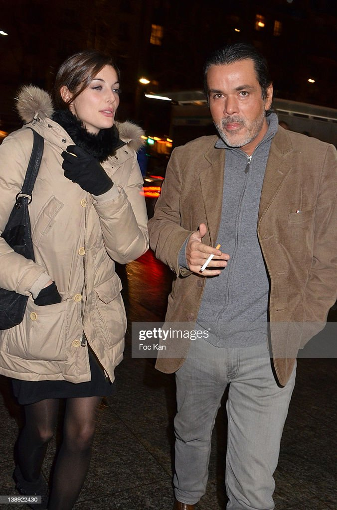 Christophe Barratier and Gwendoline Doytcheva attend the 'Adam Eve La Seconde Chance' Generale Arrivals at the Palais des Sports on February 13 2012...