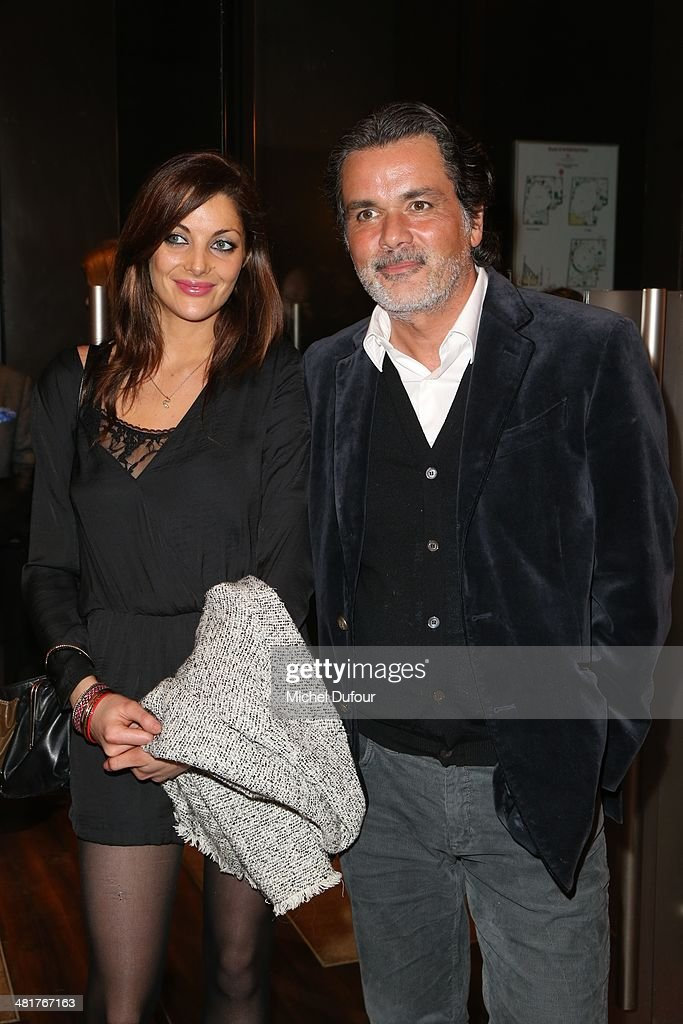 Christophe Barratier and wife attend the 'Salaud On T'Aime' After Party at Cinema L'Elysee Biarritz presented by Benjamin Patou chairman of the Moma...