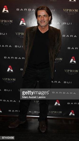 Christophe Barratier attend the Barbara Bui Party at VIP Room Theatre on March 4 2010 in Paris France
