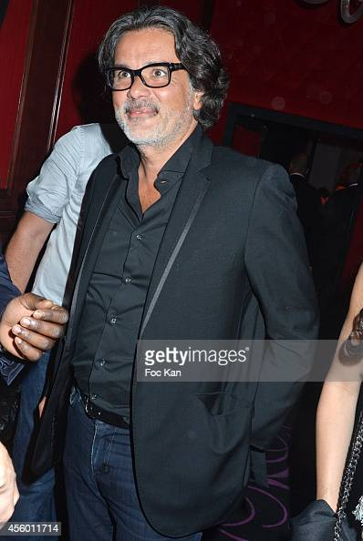 Christophe Barratier attends the New Pink Paradise Club Opening Party on September 23 2014 in Paris France