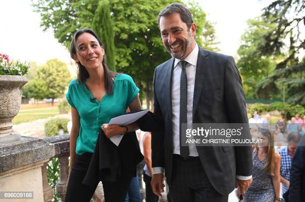 Christophe Castaner French Minister of State for Relations with Parliament government spokesperson and 'La Republique En Marche' party candidate in...