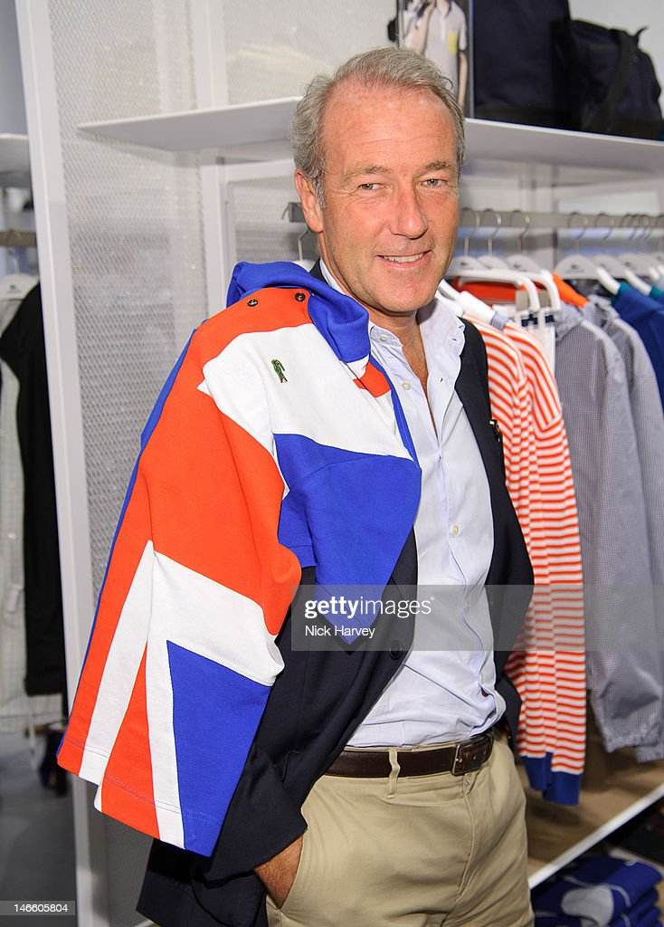 Christophe Chenut attends the launch of the Lacoste flagship store on June 20, 2012 in London, England.