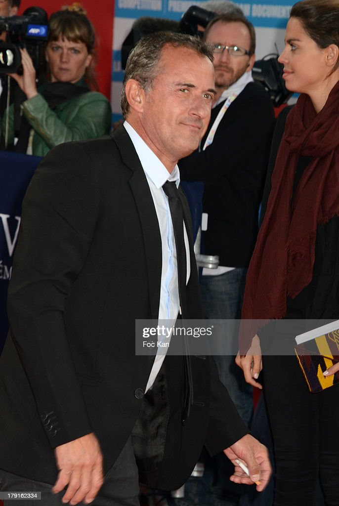 Christophe Dechavanne attends the 'Blue Jasmine' Premiere at the 39th Deauville Film Festival at the CID on August 31, 2013 in Deauville, France.