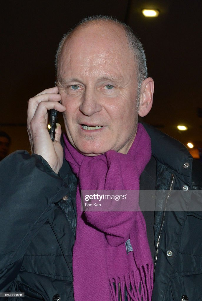 Christophe Girard attends 'Mariage Pour Tous' at Theatre du Rond-Point on January 27, 2013 in Paris, France.
