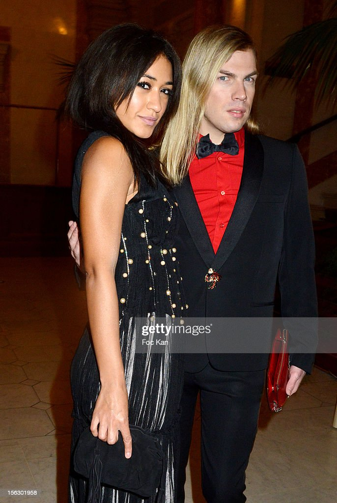 Christophe Guillarme (R) and Josephine Jobert attend the 20th 'Gala Pour L'Espoir' At the Theatre du Chatelet on November 12, 2012 in Paris, France.