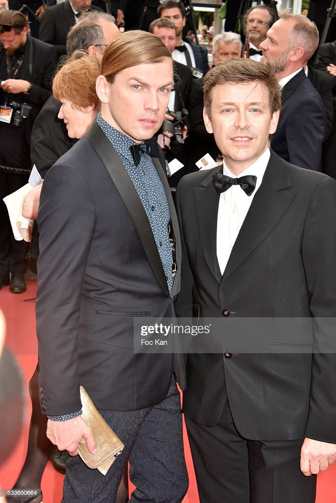 Christophe Guillarme and Thierry Marsaux attend the Closing Ceremony of the 69th annual Cannes Film Festival at the Palais des Festivals on May 22...