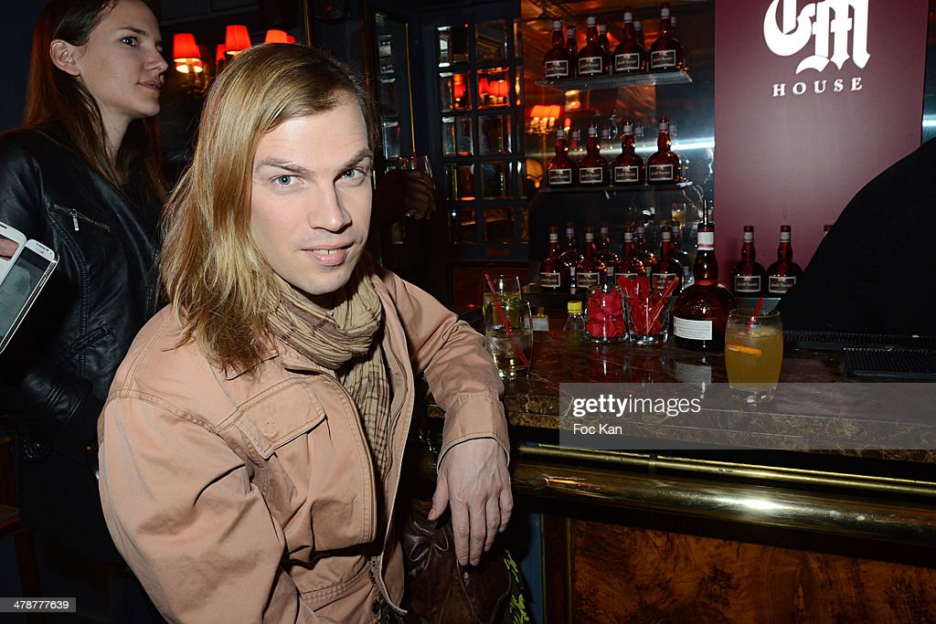 Christophe Guillarme attends 'La Parisienne' Annabelle Milot And Marc Fichel Show Case at the Grand Marnier House Ephemeral Bar of La Perouse on...