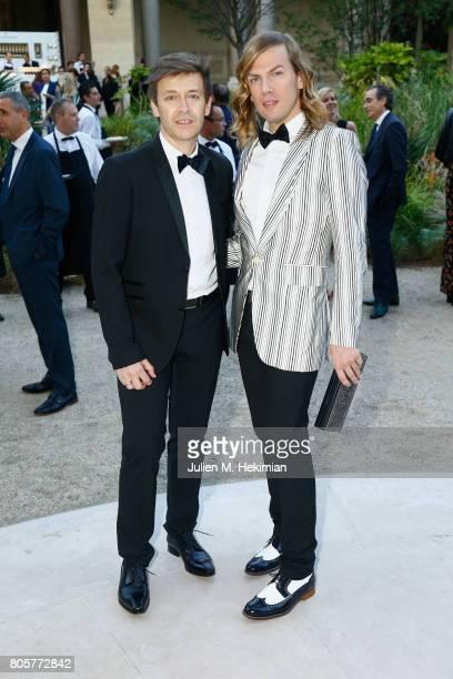 Christophe Guillarme attends the amfAR Paris Dinner 2017 at Le Petit Palais on July 2 2017 in Paris France