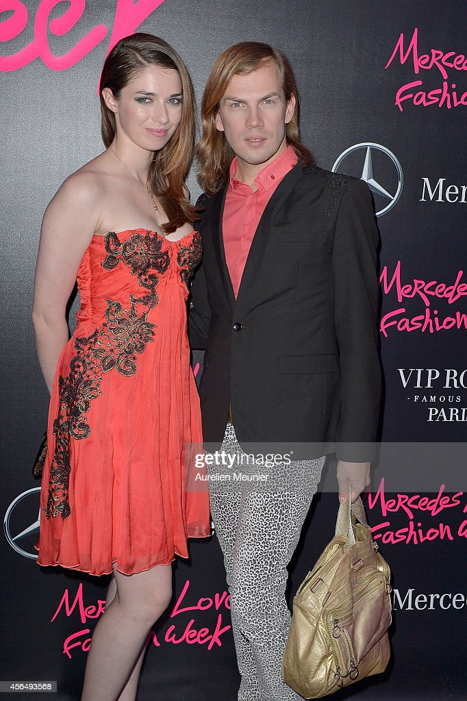 Christophe Guillarme attends the MercedesBenz Party photocall at Vip Room as part of the Paris Fashion Week Womenswear Spring/Summer 2015 on October...