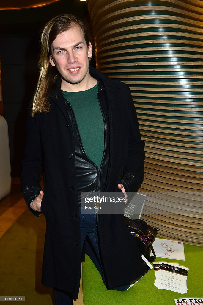 Christophe Guillarme attends the Sam Bobino DJ Set Party At The Hotel O y on April 25, 2013 in Paris, France.