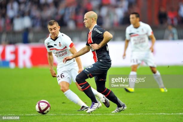 Christophe JALLET / Anthony MOUNIER PSG / Nice 7e journee de Ligue 1 Photo Dave Winter / Icon Sport