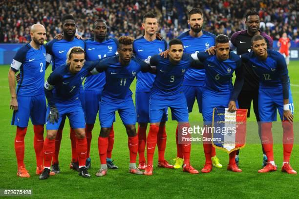 Christophe Jallet defender Samuel Umtiti defender Blaise Matuidi midfielder Laurent Koscielny defender Olivier Giroud forward Steve Mandanda...