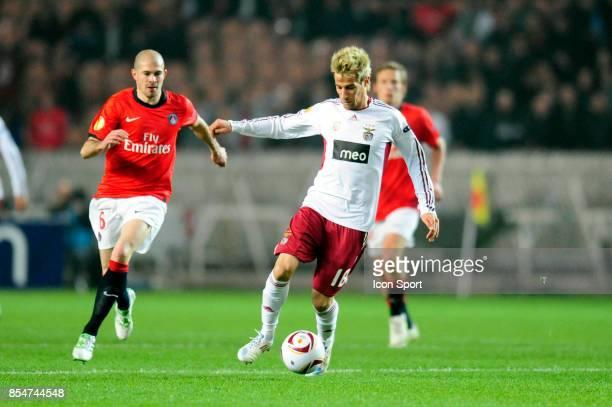 Christophe JALLET / Fabio COENTRAO Paris Saint Germain / Benfica 1/8 Finale retour Europa League