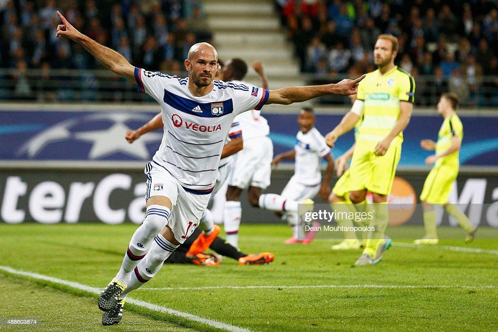 KAA Gent v Olympique Lyonnais - UEFA Champions League