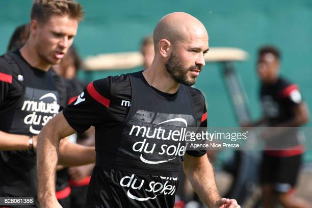 Christophe Jallet of Nice during Nice Training Session on August 8 2017 in Nice France