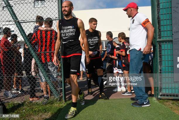 Christophe Jallet of Nice during Nice Training Session on August 9 2017 in Nice France