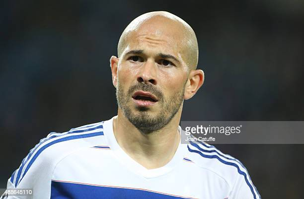 Christophe Jallet of OL looks on during the UEFA Champions League match between KAA Ghent and Olympique Lyonnais at Ghelamco Arena on September 16...