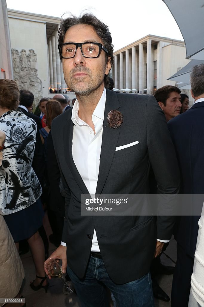 Christophe Josse attends the the Chambre Syndicale de la Haute Couture cocktail party at Palais De Tokyo on July 4, 2013 in Paris, France.