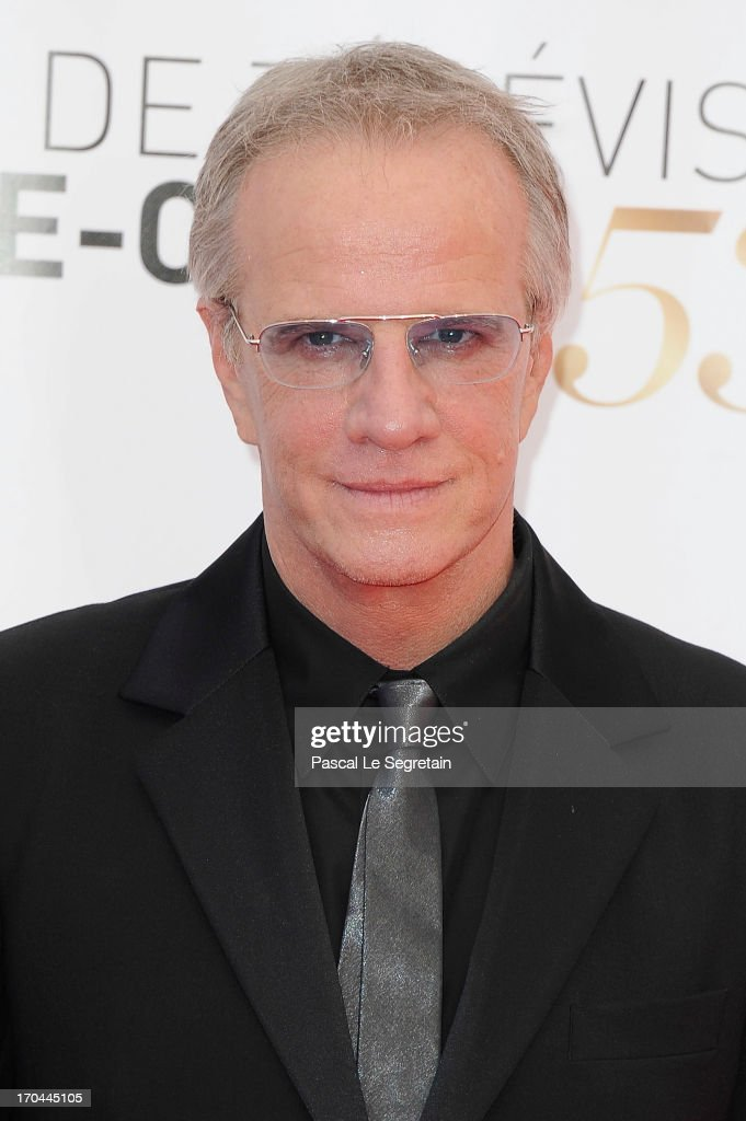 Christophe Lambert attends the closing ceremony of the 53rd Monte Carlo TV Festival on June 13, 2013 in Monte-Carlo, Monaco.