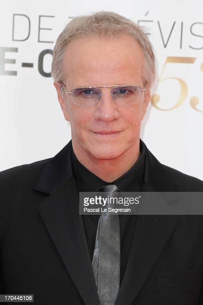 Christophe Lambert attends the closing ceremony of the 53rd Monte Carlo TV Festival on June 13 2013 in MonteCarlo Monaco