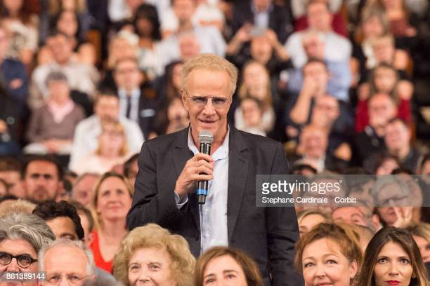 Christophe Lambert attends the Opening Ceremony of the 9th Film Festival Lumiere on October 14 2017 in Lyon France