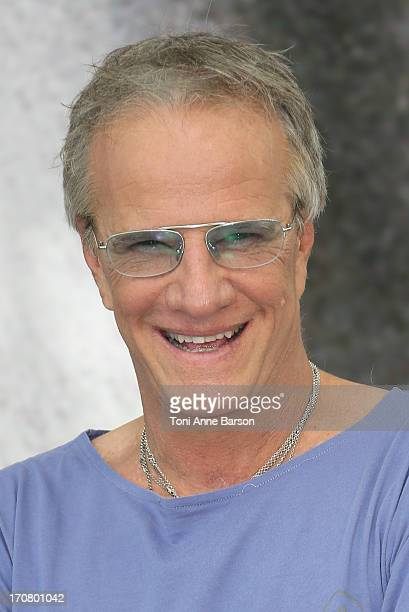 Christophe Lambert poses at a photocall during the 53rd Monte Carlo TV Festival on June 12 2013 in MonteCarlo Monaco