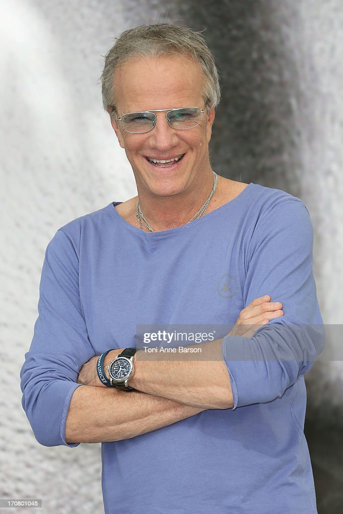 Christophe Lambert poses at a photocall during the 53rd Monte Carlo TV Festival on June 12, 2013 in Monte-Carlo, Monaco.