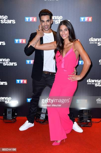 Christophe Licata and Tatiana Silva attend the 'Danse avec les Stars' photocall at TF1 on September 28 2017 in Paris France