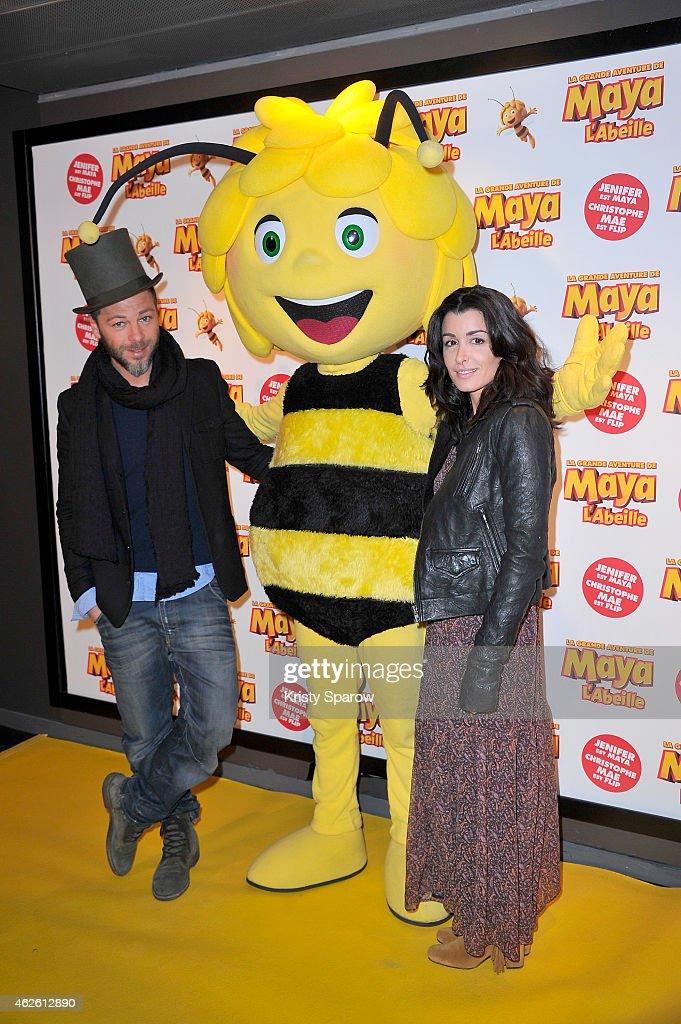 'Maya The Bee - La Grande Aventure De Maya L'Abeille' Paris Premiere At UGC Bercy