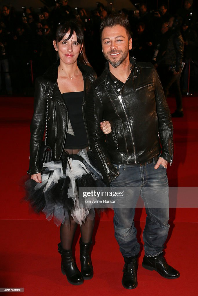 Christophe Mae arrives at the 15th NRJ Music Awards at the Palais des Festivals on December 14, 2013 in Cannes, France.