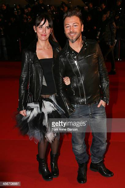 Christophe Mae arrives at the 15th NRJ Music Awards at the Palais des Festivals on December 14 2013 in Cannes France