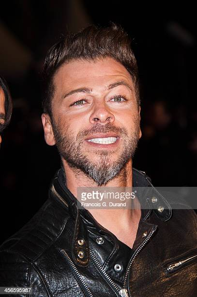 Christophe Mae attends the 15th NRJ Music Awards at Palais des Festivals on December 14 2013 in Cannes France