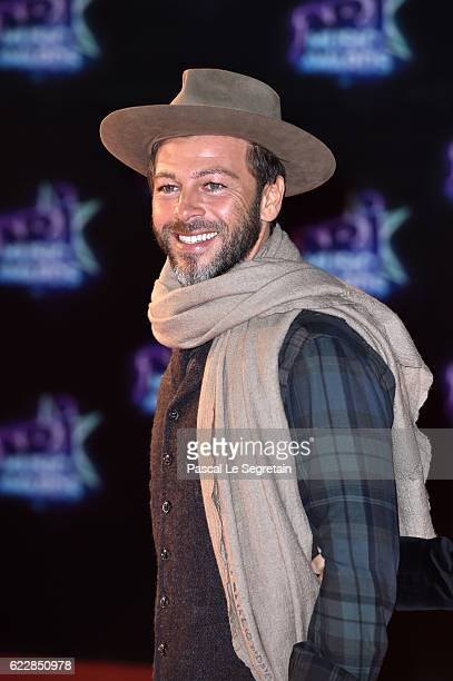 Christophe Mae attends the 18th NRJ Music Awards at Palais des Festivals on November 12 2016 in Cannes France