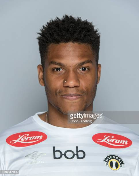 Christophe Psyche of Team Sogndal Fotball during Photocall on March 22 2017 in Sogndal Norway