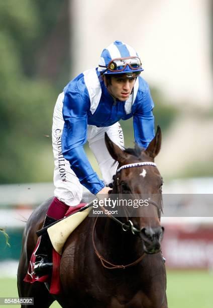 Christophe SOUMILLON sur Joanna Prix de la foret Hippodrome de Longchamp 2010
