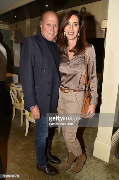 Christophe Von Hohenberg and Carolina von Humboldt attend the launch of Second Bloom Cathy Graham's Art of the Table hosted by Joanna Coles and...