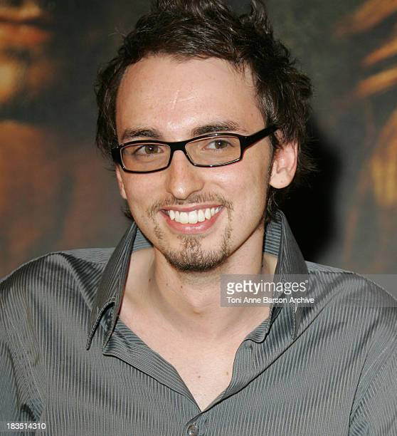 Christophe Willem Winner of La Nouvelle Star during Pirates of The Caribbean Dead Man's Chest Paris Premiere at Gaumont Marignan Theater in Paris...