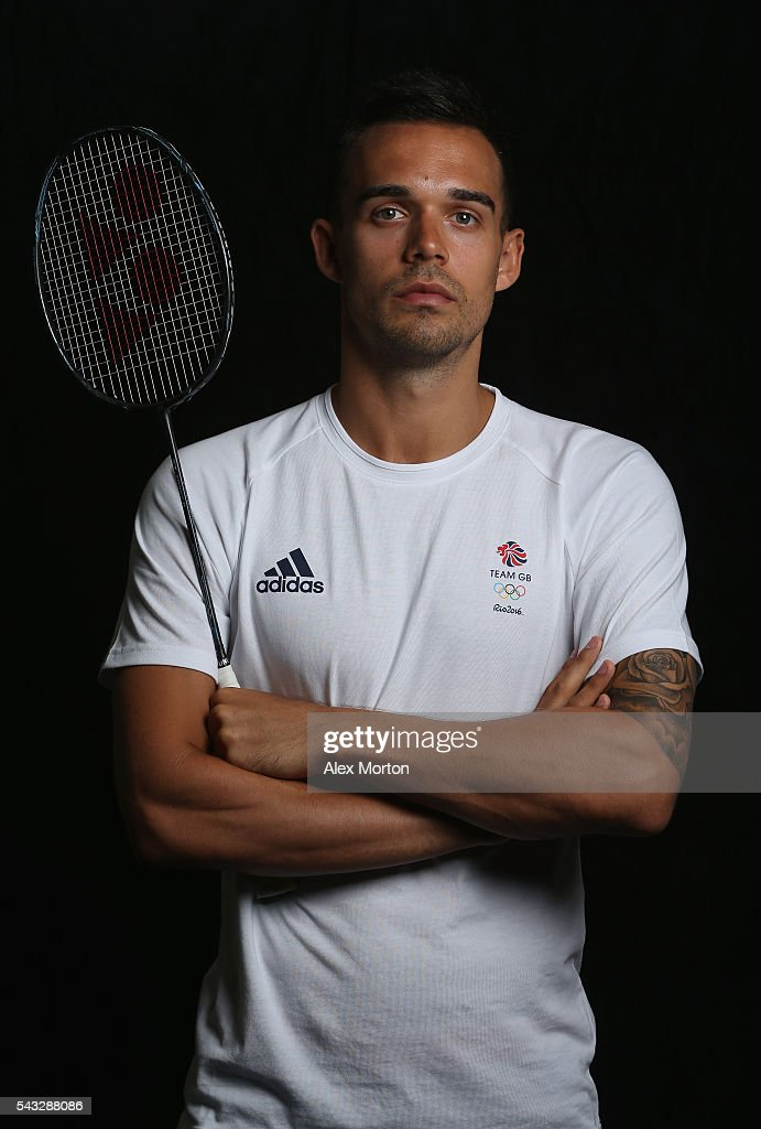 Christopher Adcock of Team GB during the Announcement of Badminton Athletes Named in Team GB for the Rio 2016 Olympic Games at the National Badminton Centre on June 27, 2016 in Milton Keynes, England.