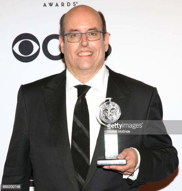Christopher Ashley poses at the 71st Annual Tony Awards in the press room at Radio City Music Hall on June 11 2017 in New York City