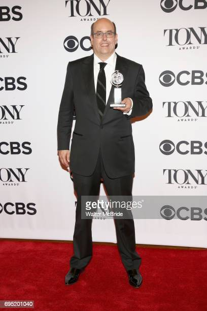 Christopher Ashley poses with award at the 71st Annual Tony Awards in the press room at Radio City Music Hall on June 11 2017 in New York City