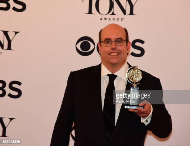 Christopher Ashley with award for Come From Away The 71st Annual Tony Awards took place in Radio City Music Hall honoring the best in Broadway Stage...