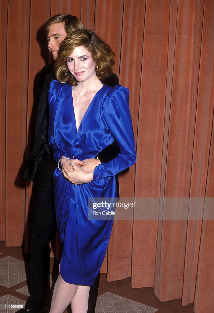 Christopher Atkins and actress Melissa Gilbert attend the 41st Annual Golden Globe Awards on January 28 1984 at the Beverly Hilton Hotel in Beverly...
