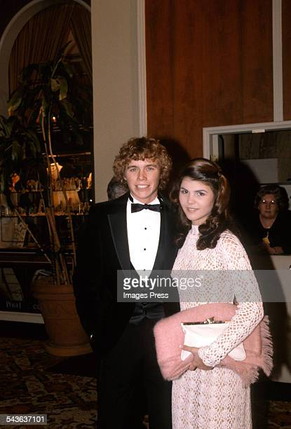 Christopher Atkins and Lori Loughlin circa 1981 in Los Angeles California