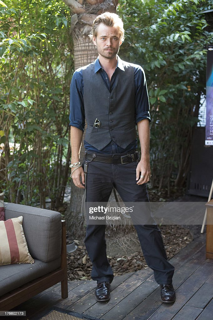 Christopher Backus attends 9th Annual HollyShorts Film Festival - Private Pre-Reception at Hollywood Roosevelt Hotel on August 15, 2013 in Hollywood, California.