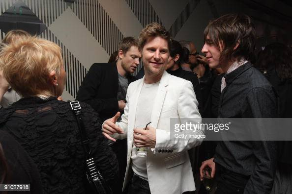 Christopher Bailey arrives at the Burberry Prorsum Spring/Summer 2010 Show at Rootstein Hopkins Parade Ground during London Fashion Week on September...